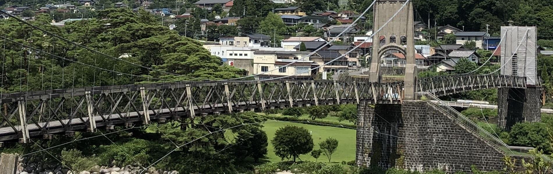 南木曽町のシンボル 桃介橋